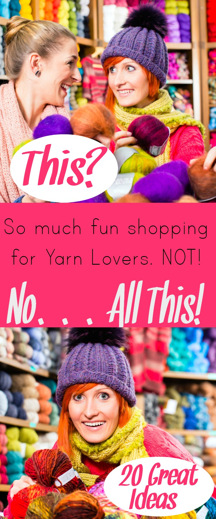 Shopping for Yarn Lovers