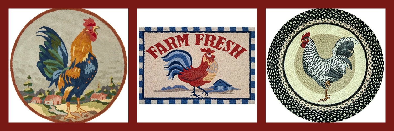 Rooster Rugs Kitchens