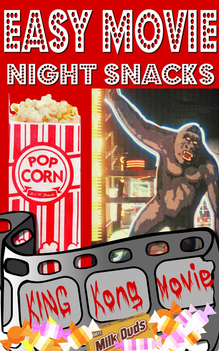 Easy movie night snack ideas.