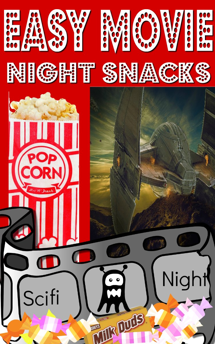 Movie night snack ideas