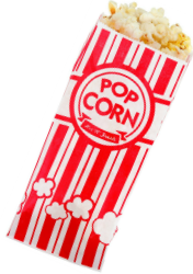 Popcorn for the Best Backyard Movie Projector