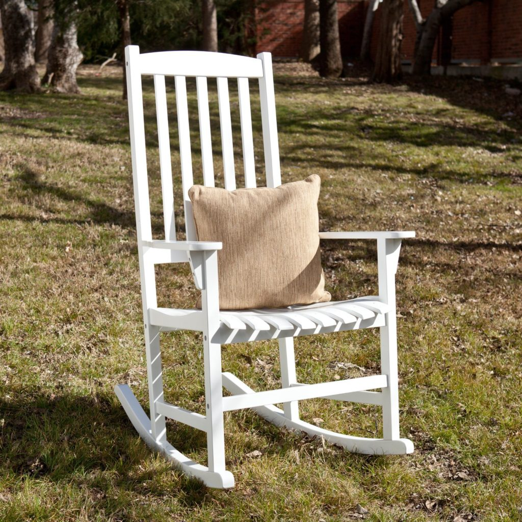 White Eucalyptus Porch Rocker