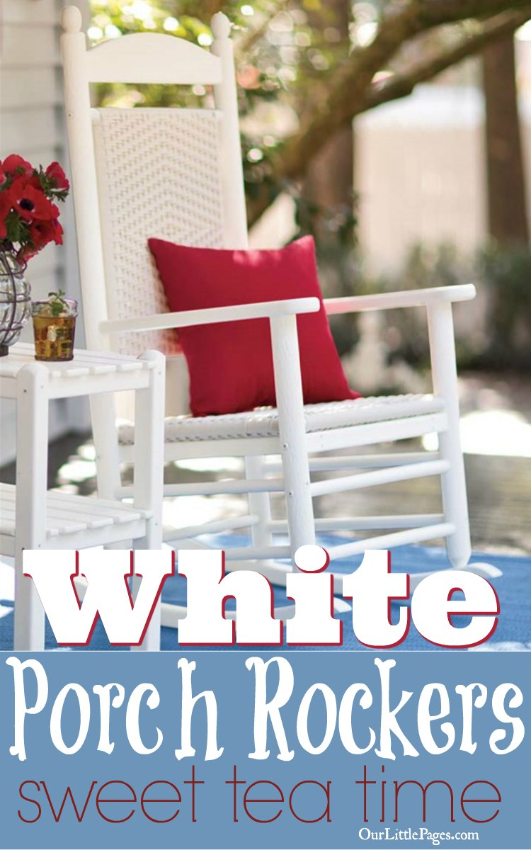 White Porch Rockers