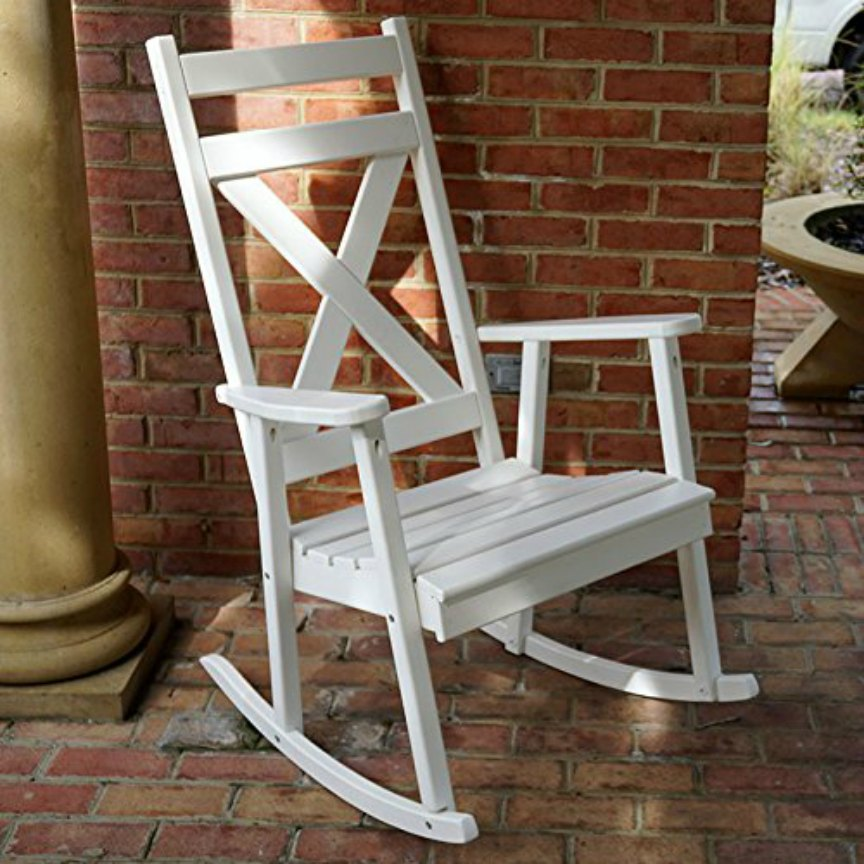 White Rocking Chairs for the Porch