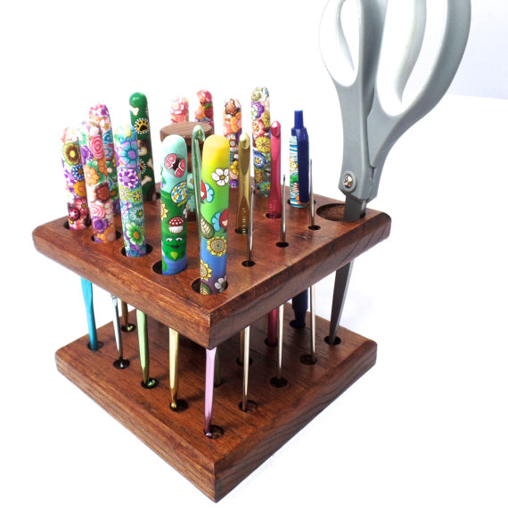 Beautiful Make Crochet Hook Organizer