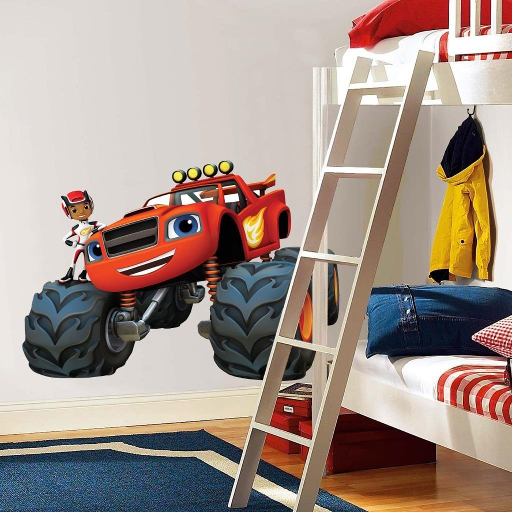 Blaze Monster Machines Wall Decals