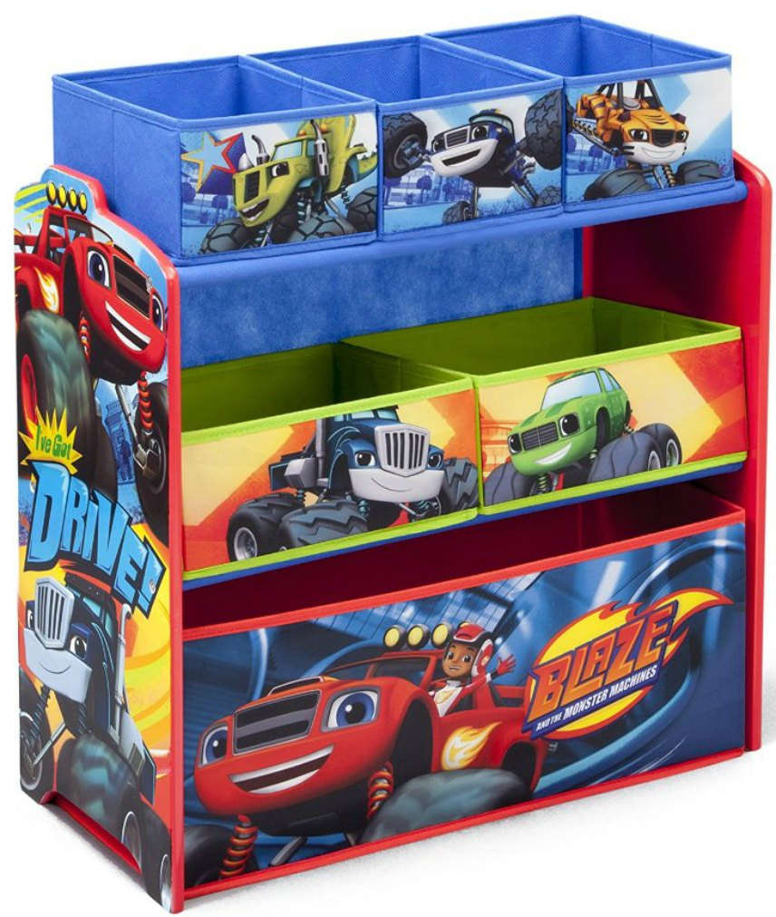 Blaze Monster Machines Toy Box