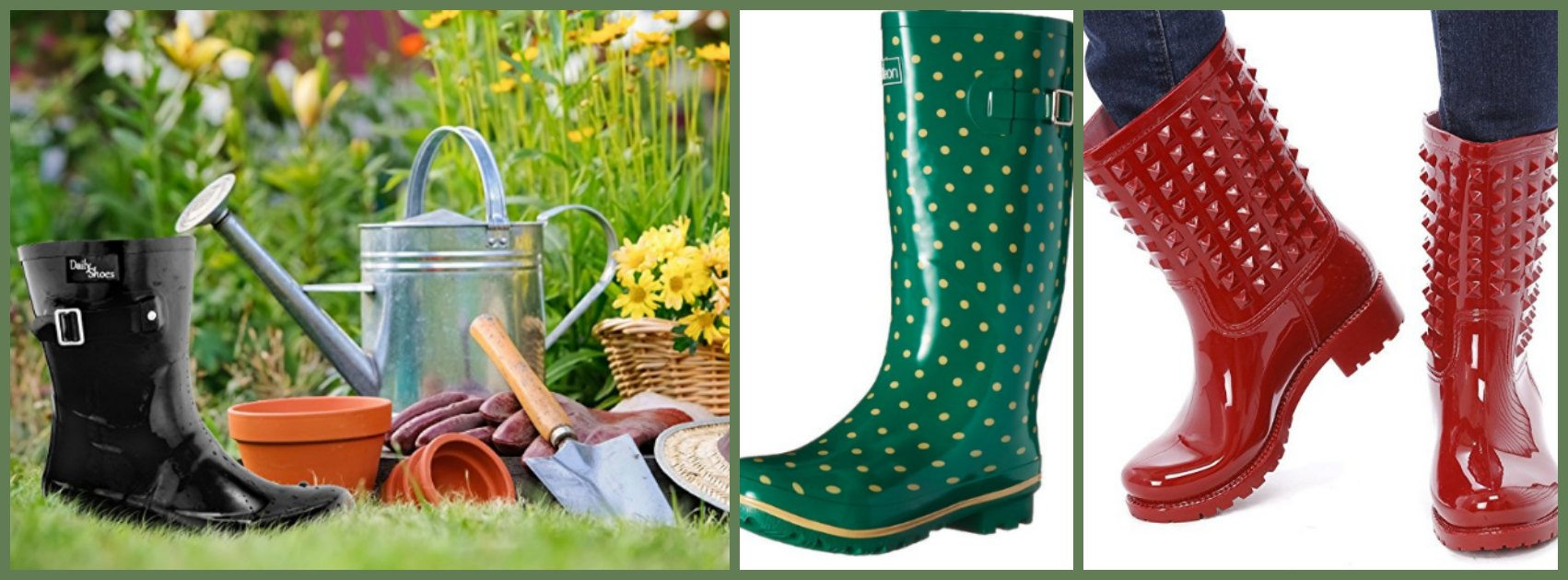 Women S Rain Boots Wide Calf Rain Boots For Real Women
