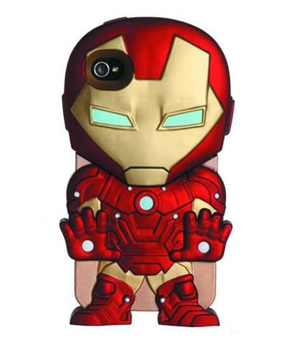 Comic Character iPhone Cover