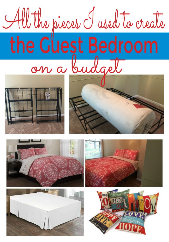 How To Create The Guest Bedroom on a Budget