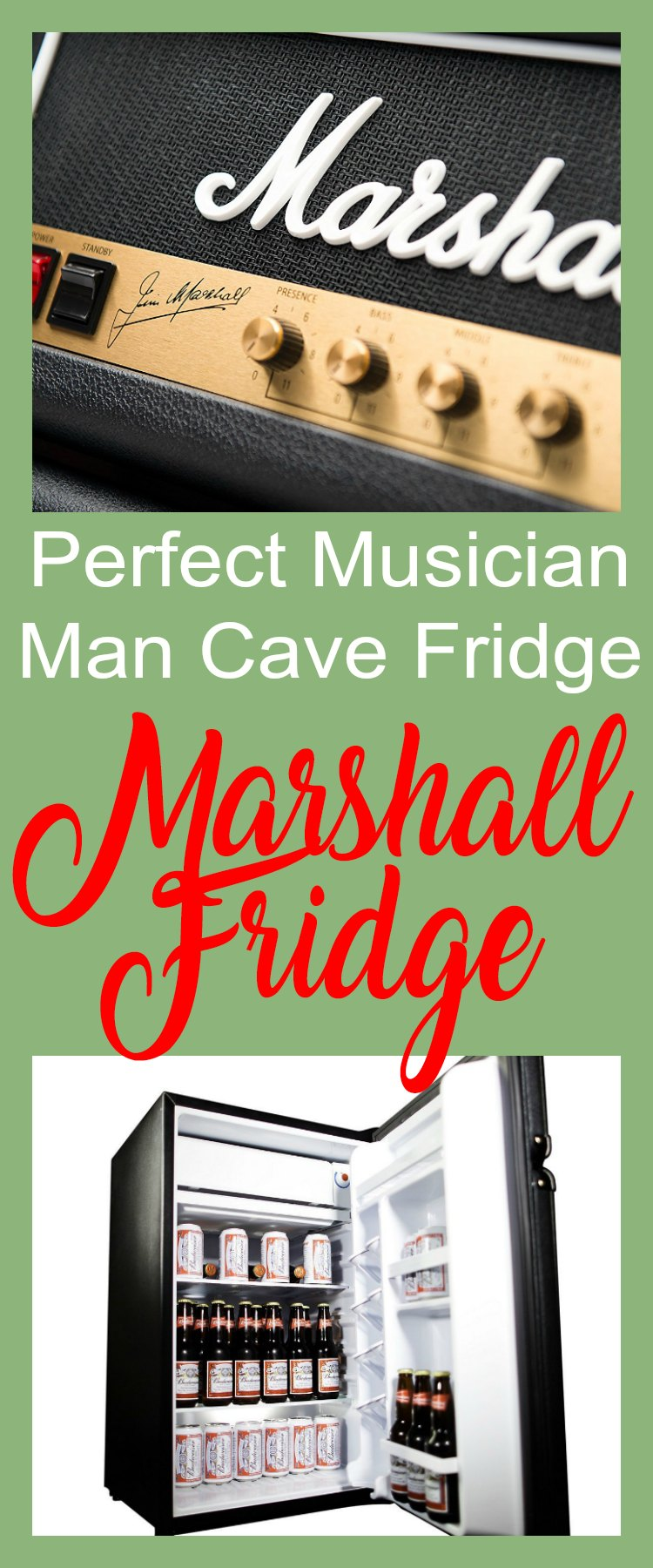 Marshall Fridge - The Perfect Man Cave Fridge