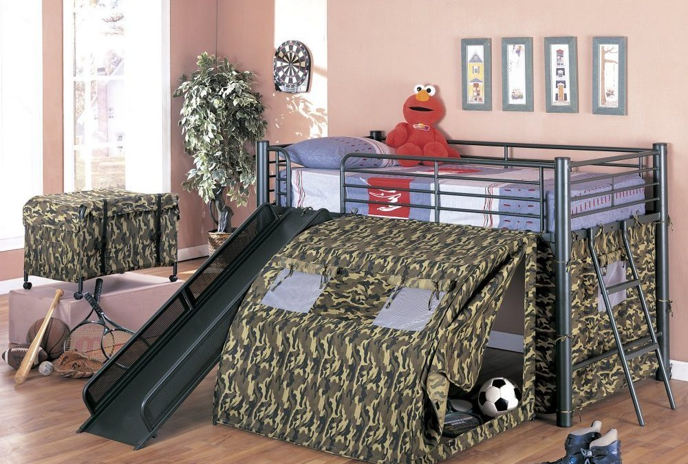 How To Create A Kids Camo Bedroom – Perfect for Boys and Girls