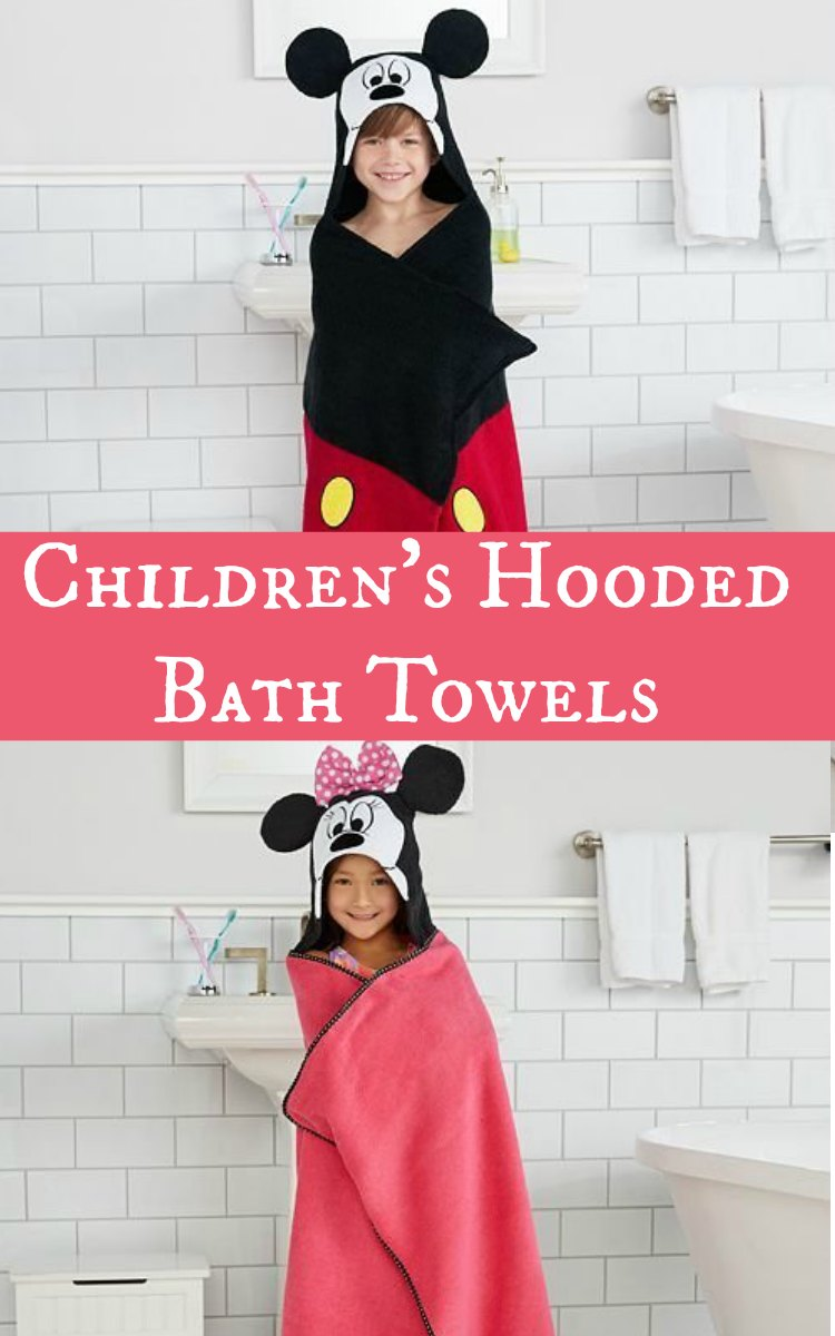 Children's Hooded Bath Towels