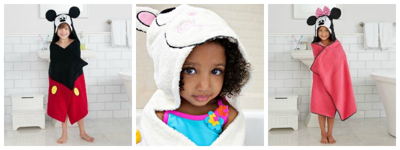 Childrens Hooded Bath Towels 3