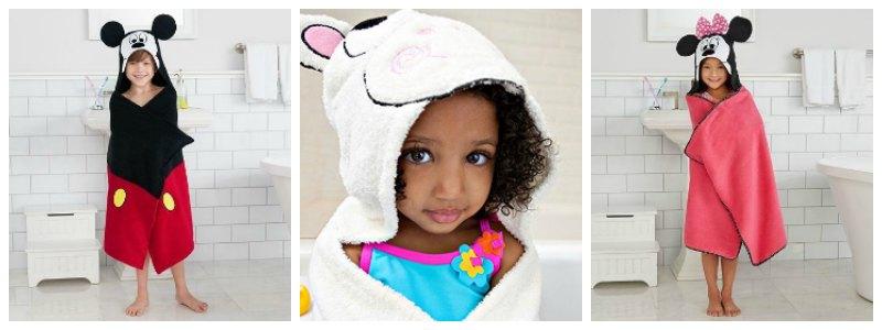 Children's Hooded Bath Towels | Make Kid's Bath Time Fun