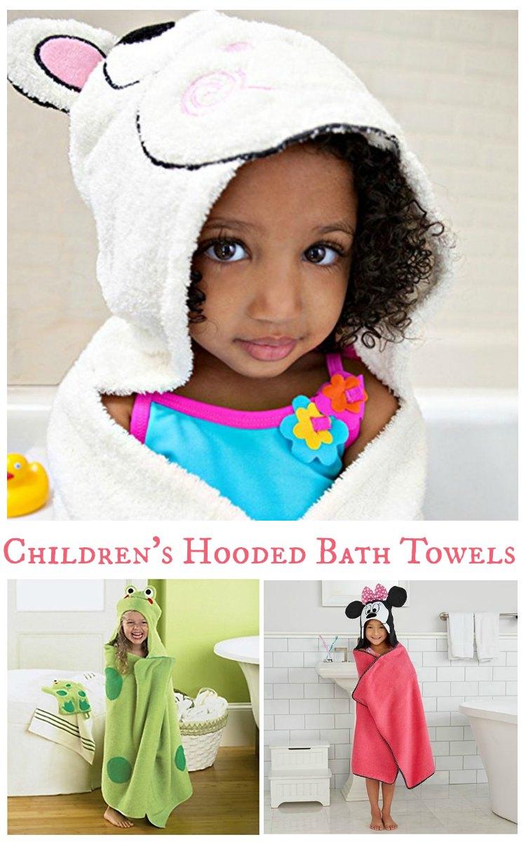 Children's Hooded Bath Towels