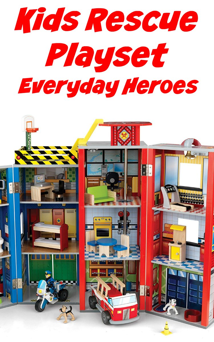 Kids Rescue Playset