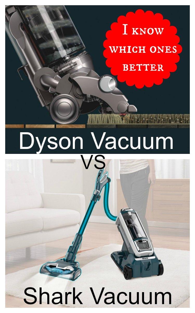 Shark Vacuum Vs Dyson Vacuum