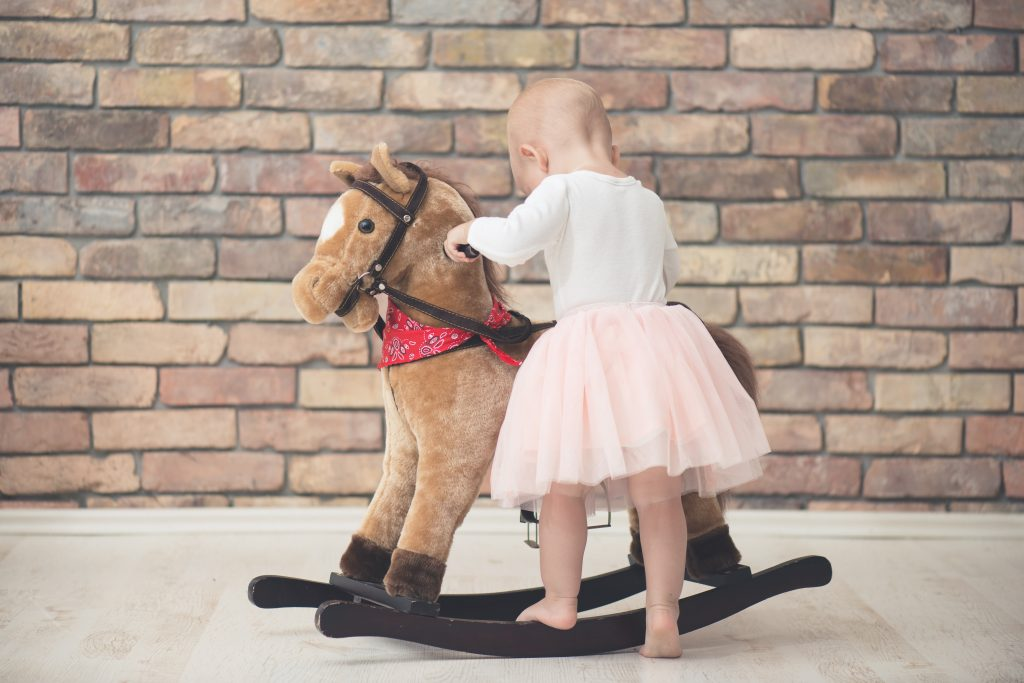 Stuffed Animal Rocking Horses can take the abuse kids give it and still stand up