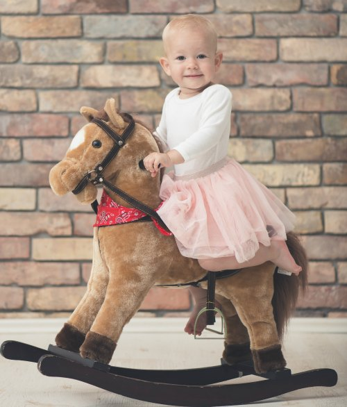 Stuffed Animal Rocking Horses get passes down from generation to generation