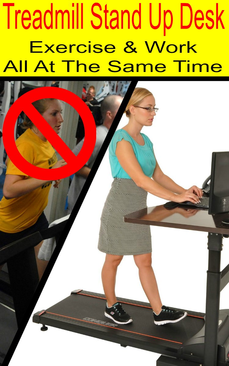 Treadmill Stand Up Desk